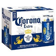 Corona Extra 12 Pk Cans