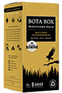 Bota Box Nighthawk Gold Chardonnay 2018 3 LTR