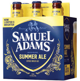 Sam Adams Summer Ale 6 Pk Bottles