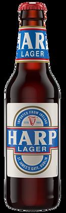 Harp Premium Lager 6 Pk Bottles