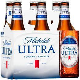Michelob Ultra 6 Pk Bottles