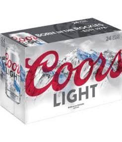 Coors Light 24 Pk Cans
