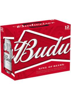 Budweiser 12 k Cans