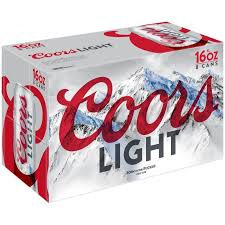 Coors Light 18 Pk Cans