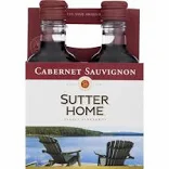 Sutter Home Cabernet 4 Pk 187 ml