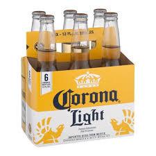 Corona Light 6 Pk Bottles