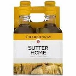 Sutter Home Chardonnay 4 Pk 187 ml