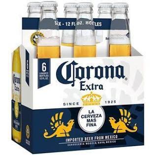 Corona Extra 6 Pk Bottles