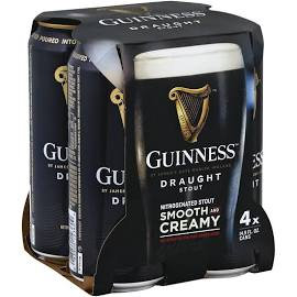 Guinness Drought 4 Pk Cans