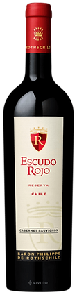 Escudo Rojo Cabenet Sauvignon Reserva 750 ml