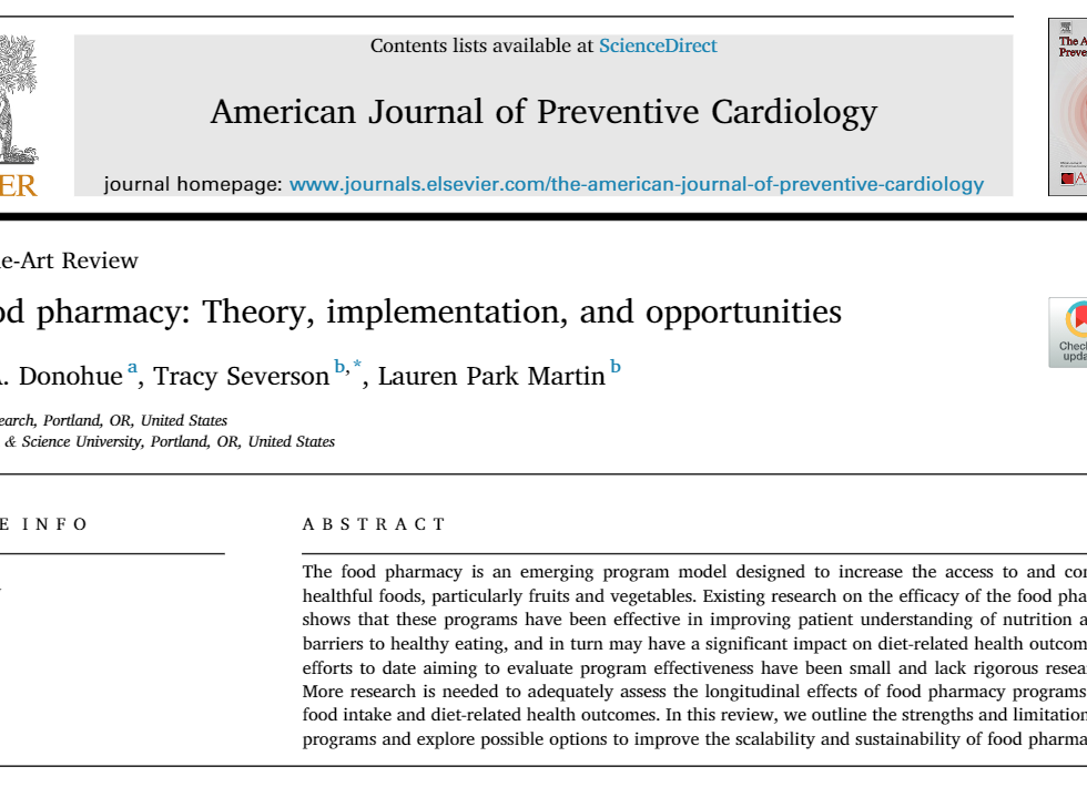 American Journal of Cardiology The Food