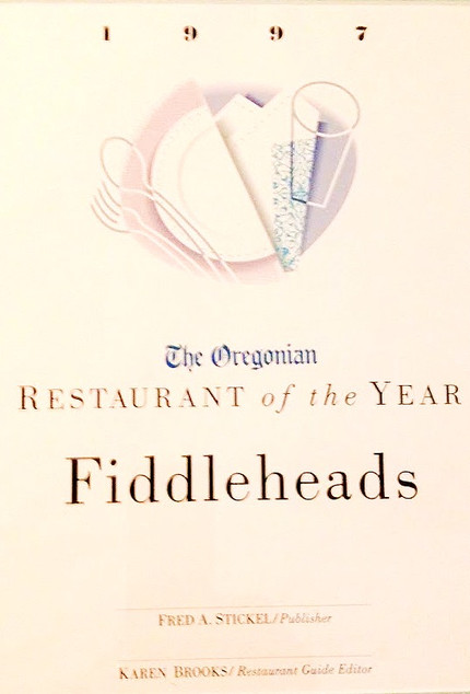 Oregonian Restaurant of the Year