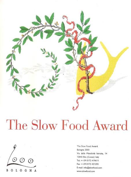 Slow Food Award