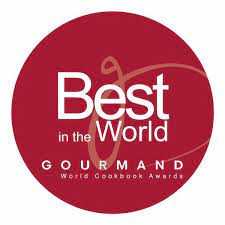 Gourmand World Cookcook Award Seal Logo.