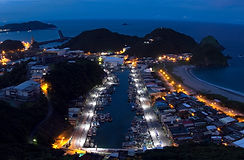 Su'ao Yilan County_Evening_panorama_of_S