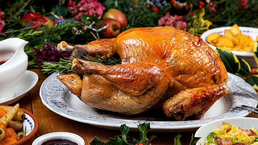 Organic Free Range Bronze Turkey  5kg - to - 5.5 kg