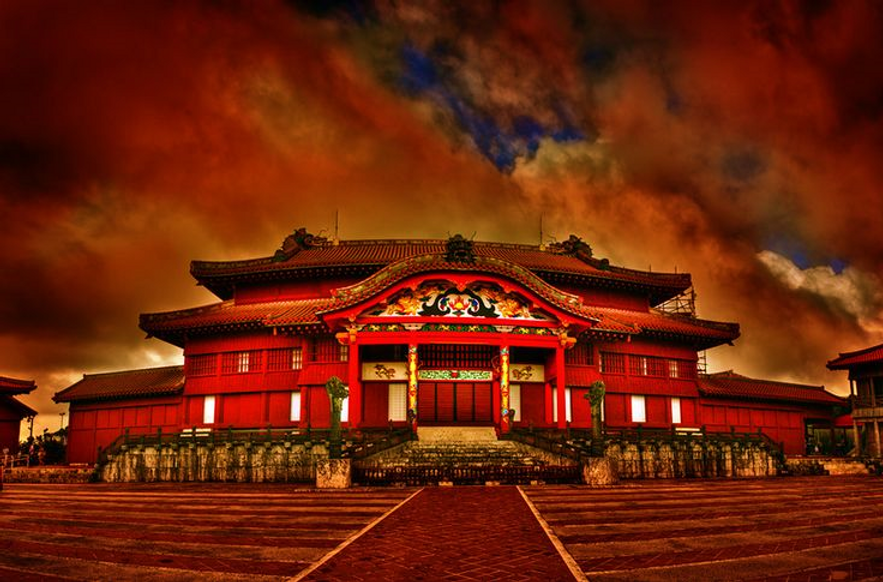 Shuri Castle REd Sky.png