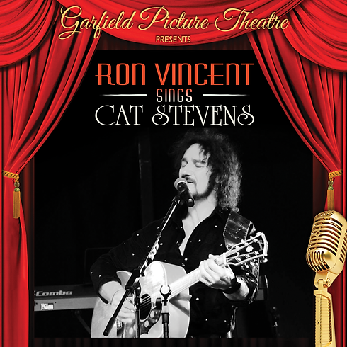 RON VINCENT SINGS CAT STEVENS – Saturday 22nd May