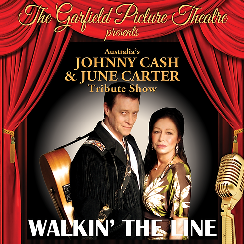 'WALKING THE LINE' CASH AND CARTER TRIBUTE – Saturday 16th November