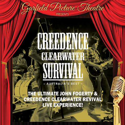 CREEDENCE CLEARWATER SURVIVAL – 7th August