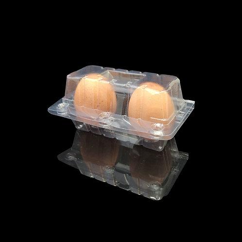 กล่อง EG-09 (กล่องไข่ 2 ฟองล๊อค)