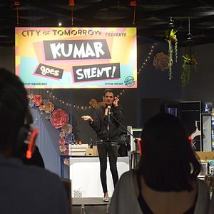 Kumar Goes Silent!