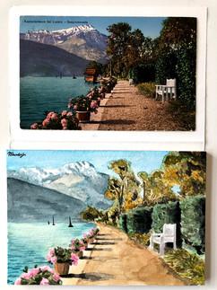 Postcard Gouache Painting