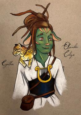 Character design: Oleander Caligo & Cynthia