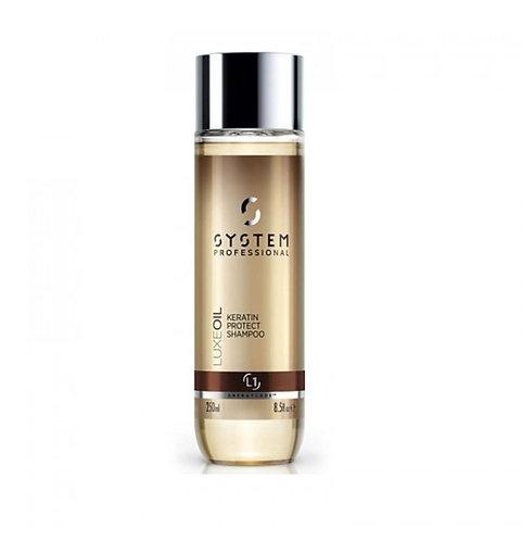 System Professional Keratin Protect Shampoo