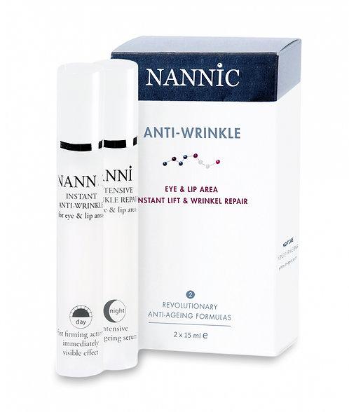 Nannic  Anti-Wrinkle Eye & Lip Set