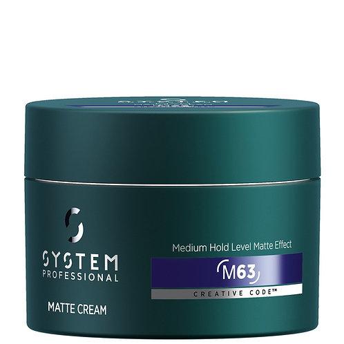 System Professionals Man Matte Cream