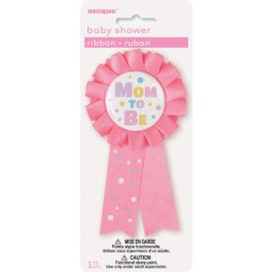 Ribbon Mom To Be Pink
