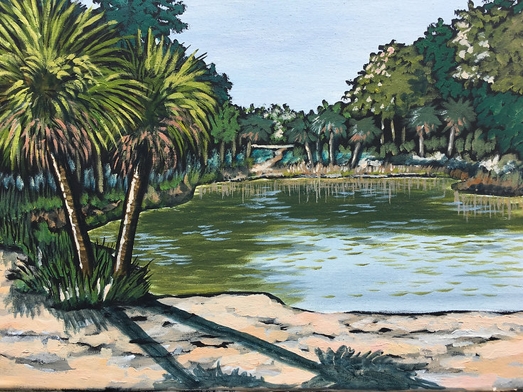 State Park Pond