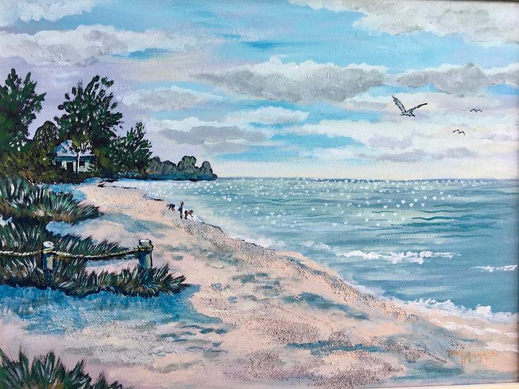 Casperson Beach (Print)