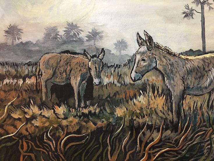Laslo's Donkeys