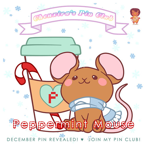 Peppermint Mouse ♥ Pin