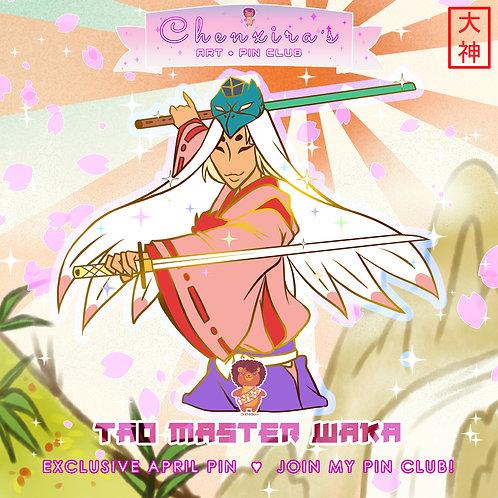 Tao Master Waka🎍Pin