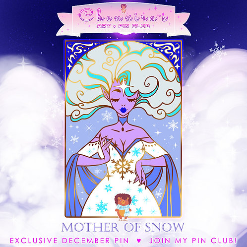 Mother of Snow ❄️Pin