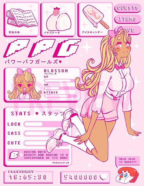 PPG 💗 Blossom Print