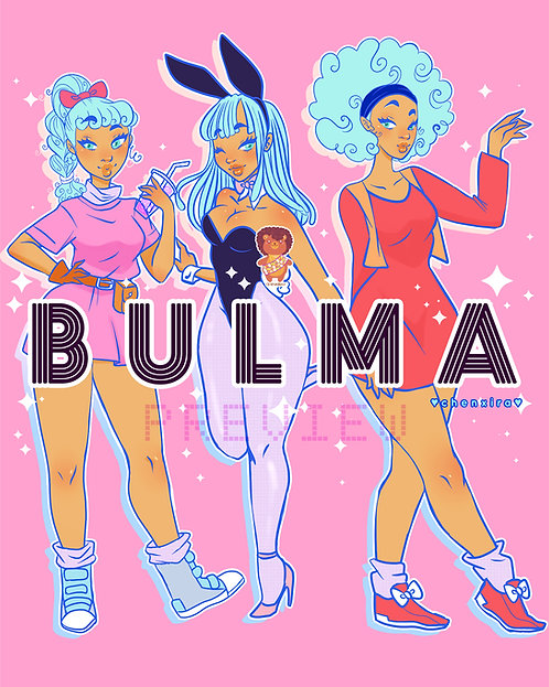 TRIPLE BULMA ♡ Print