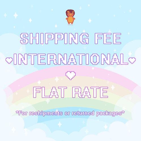 International Reshipment ♥ Fee