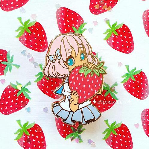Strawberry Biter 🍓 Enamel Pin
