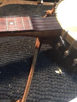 Aftermarket Scoop on a Gilbert Banjo