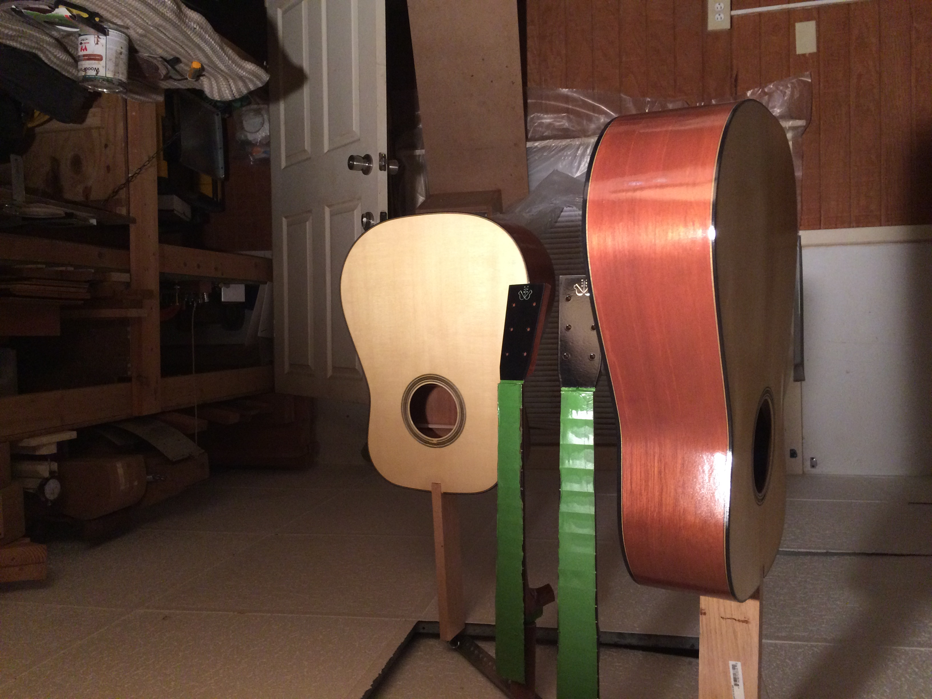 Curing Waterbased Lacquer