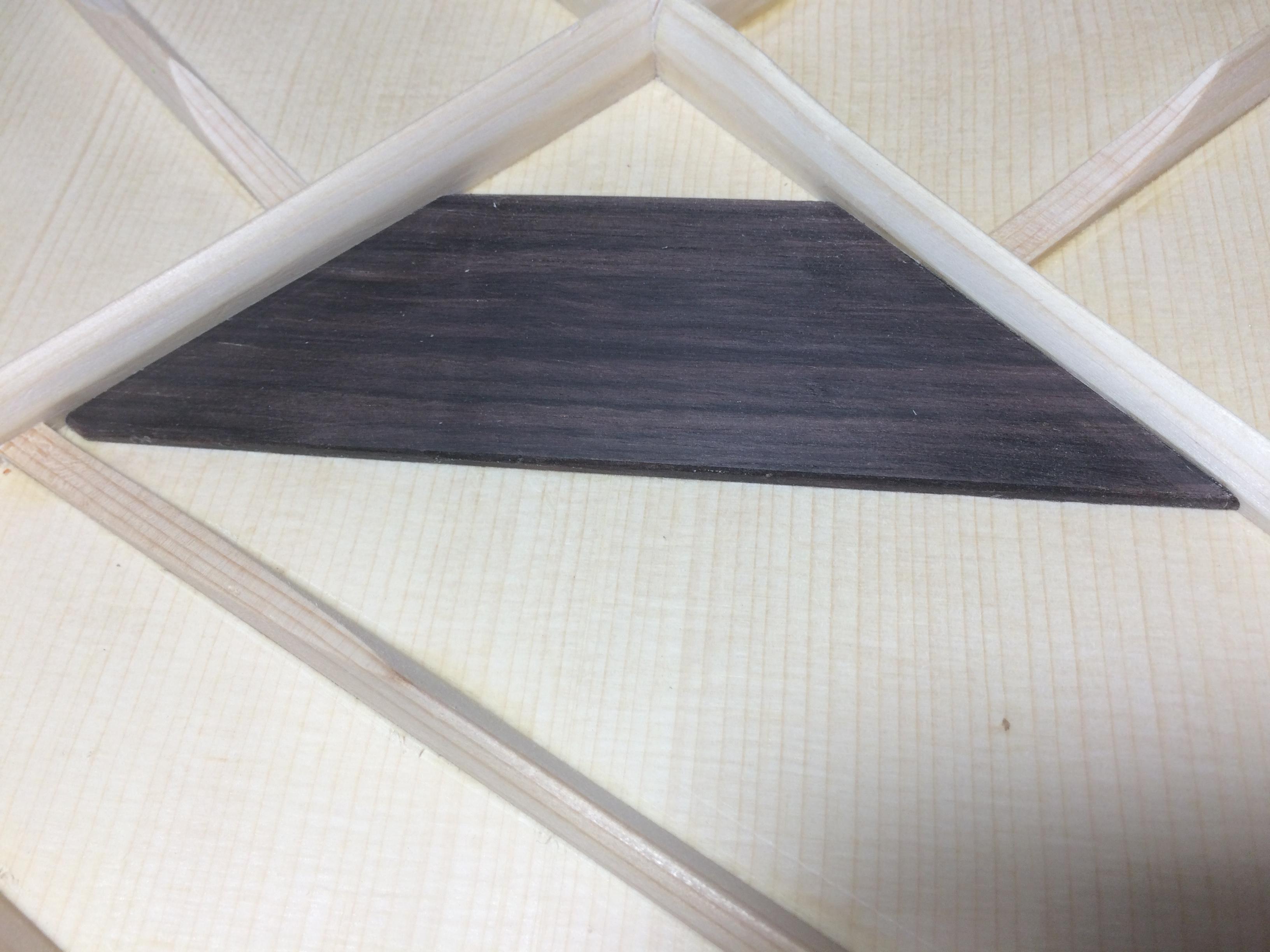 Rosewood Bridge Plate