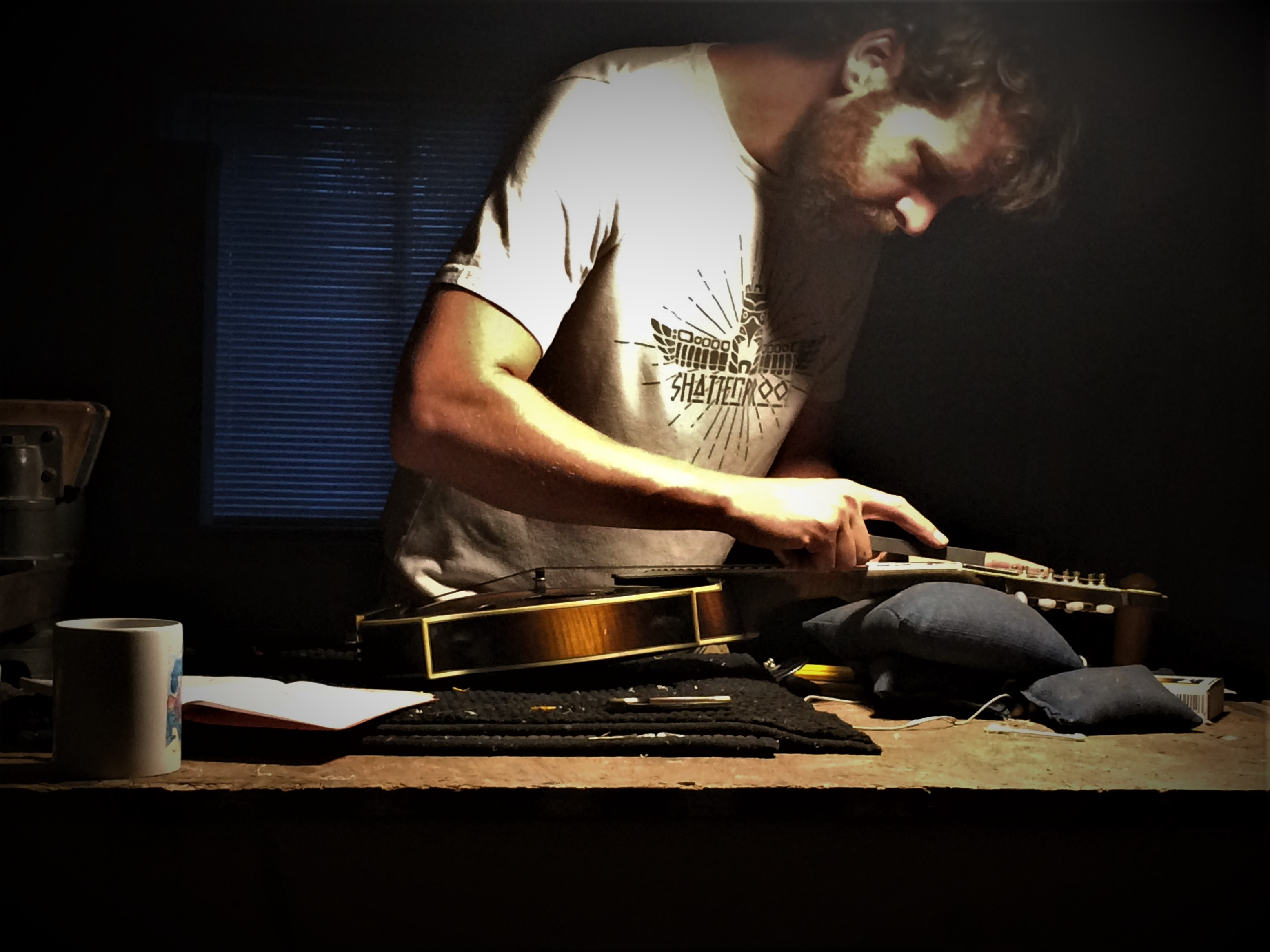 Setting up a Mandolin
