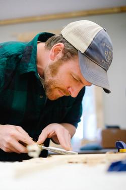 Brace Carving Justin Eisenman