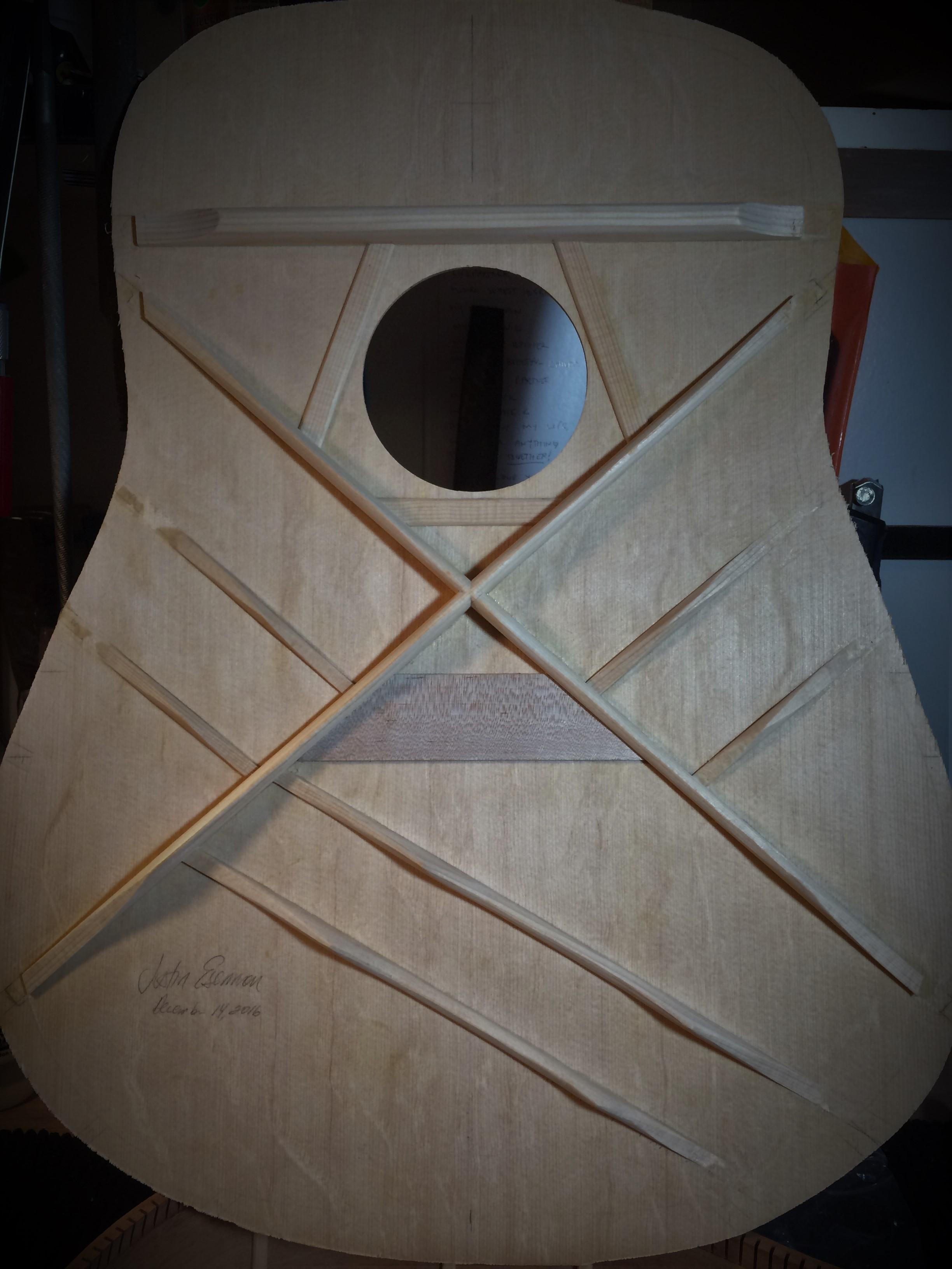 Bearclaw Sitka Soundboard