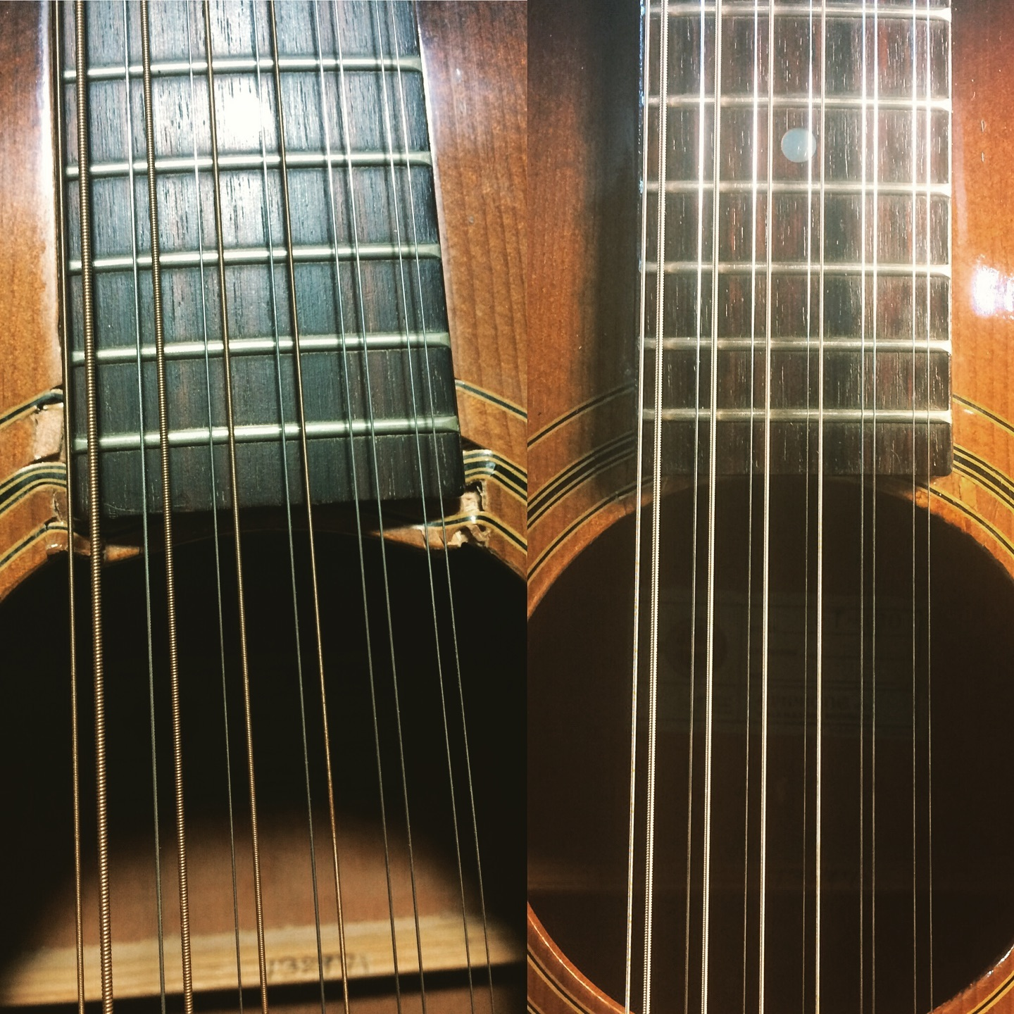 Before and After Neck Block Repair