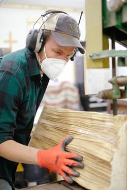 Resawing Spruce Billets